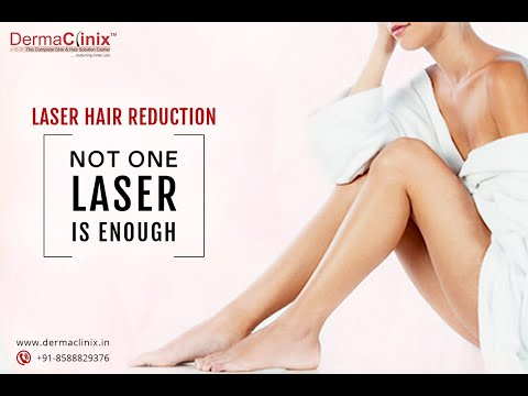 Permanent Laser Hair Removal in Delhi - DermaClinix, New Delhi.