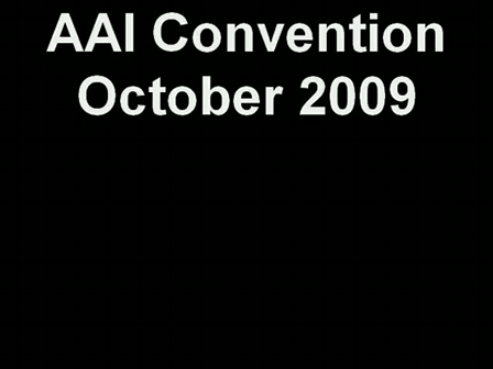 AAI Convention October 2009
