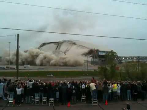 Texas Stadium Demolition - April 11, 2010