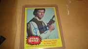 Harrison Ford signed trading card