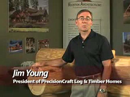 Handcrafted Log Homes - A Look Inside PrecisionCraft