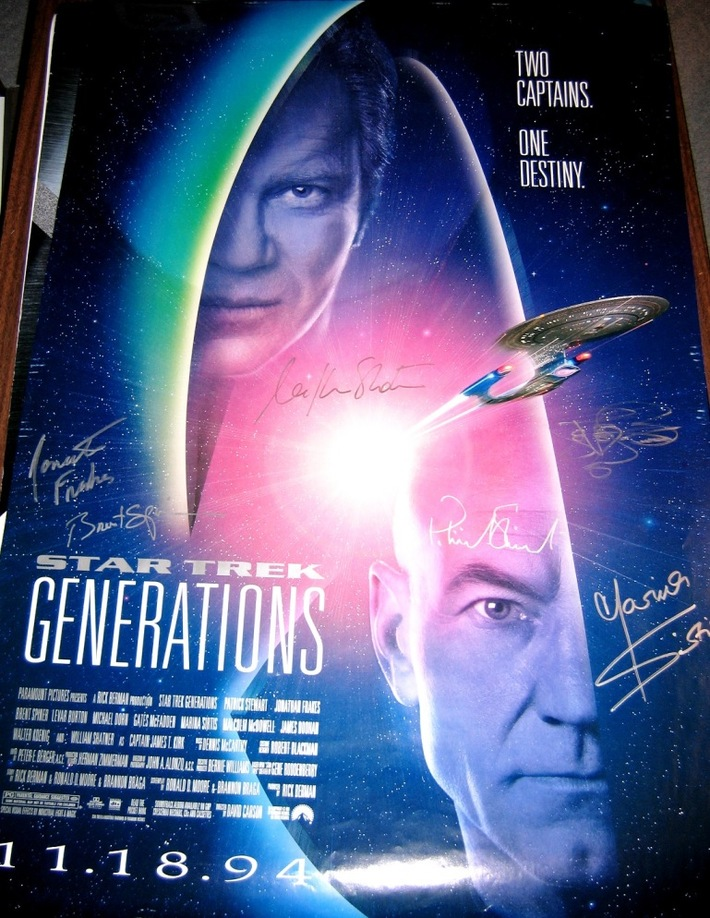 Generations Movie Poster Signed
