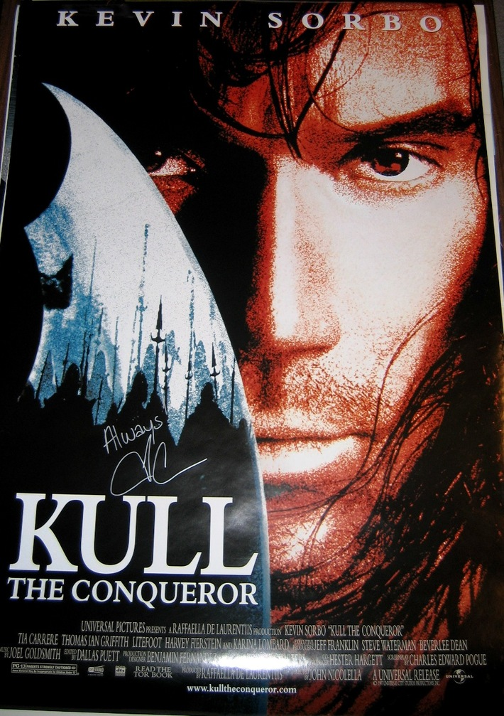 Kull Signed DS Movie Poster