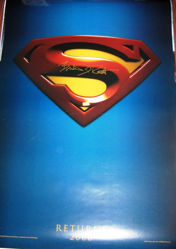Superman Returns Signed