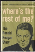 """""""Where's the Rest of Me?"""" Ronald Reagan cover of book"""