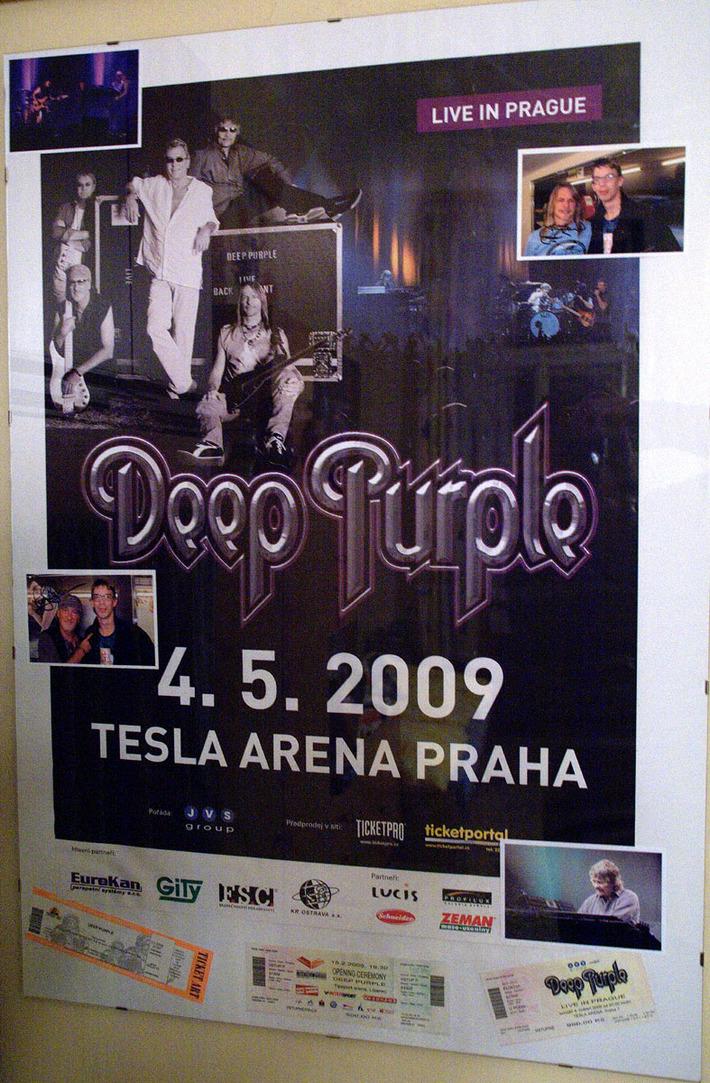 My small Deep Purple frame