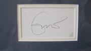 Eric Clapton Autograph