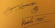GEORGE HARRISON : 1995 album page
