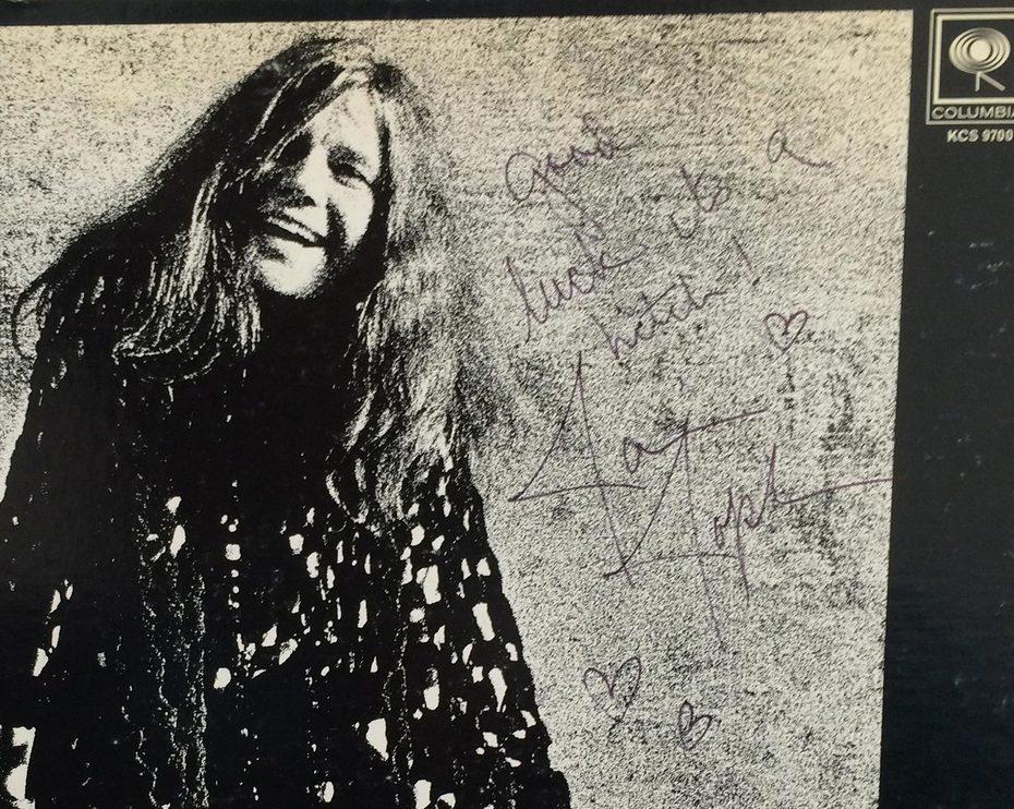 Janis Joplin Autograph Authenticity Check: Cheap Thrills