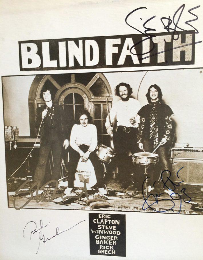 Blind Faith Autograph Authenticity Check