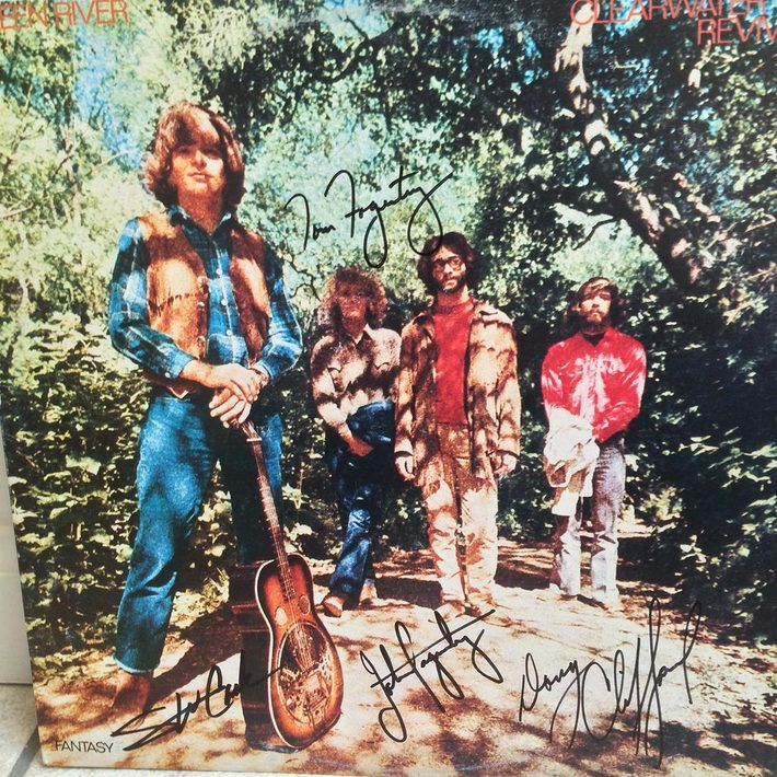 Credence Clearwater Revival Autograph Authenticity Check: Green River