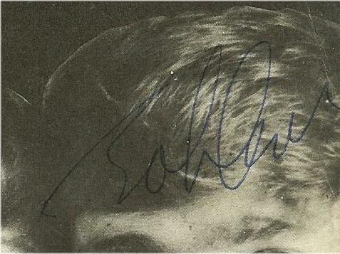 Genuine John Lennon Autograph Signed August 15, 1965