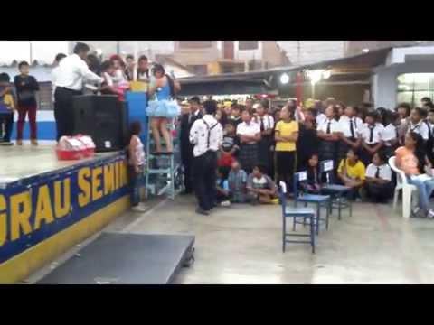 """FONOMIMICA """"PAYASO TRISTE"""" EN EL COLEGIO MIGUEL GRAU N° 137 - SJL"""