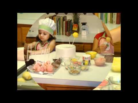 Cómo hacer o preparar cake pops o paletas de pastel