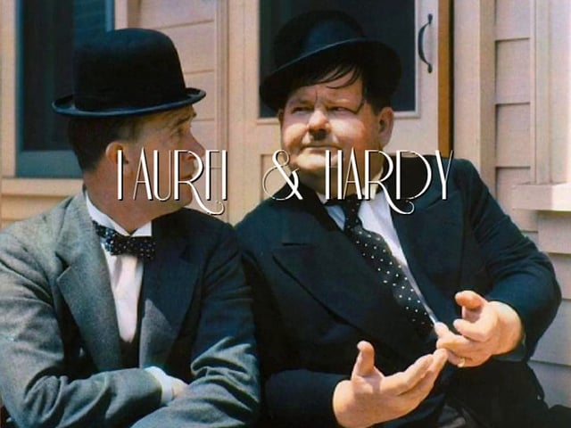 """LAUREL & HARDY :  """"BEST MOMENTS & RARE FOOTAGE"""""""