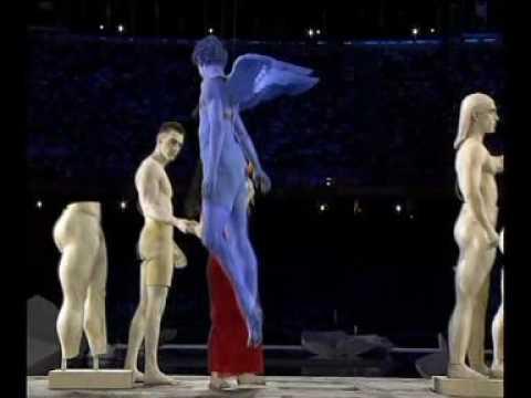 Athens 2004   Opening Ceremony   Klepsydra