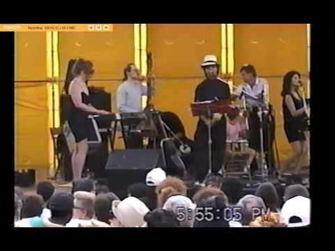 Guaracha Latin Dance band June 18 1995  Desnudate Mujer