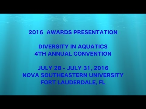 2016 Diversity in Aquatics Awards