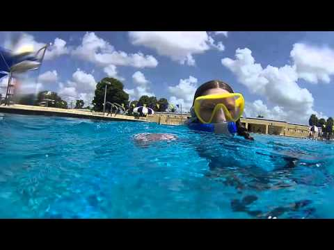How we make kids into good snorkelers