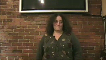Laura Packer tells at the January 2009 MouthOff