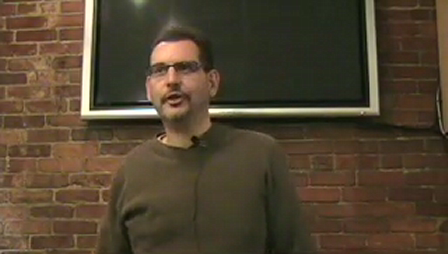 """James McCoy tells """"The Transformation of Things"""" 1-29-09"""