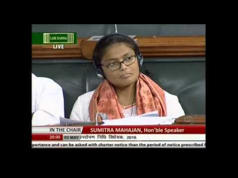 Shri Prakash Javadekar on passing compensatory afforestation fund Bill, 2015