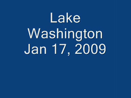 Lake Washington 1-17-09