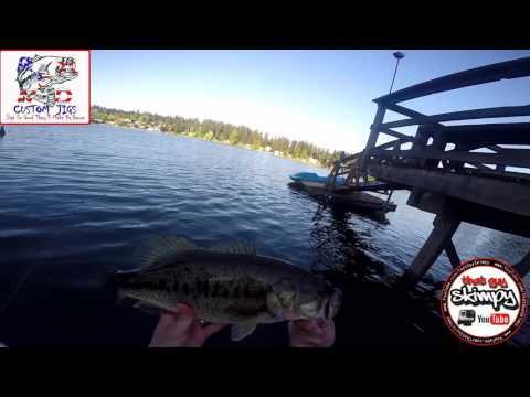 Jig Fishing with a Rednex Custom Jig