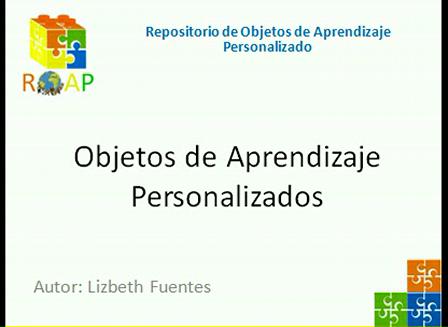 Objetos de Aprendizaje Personalizados