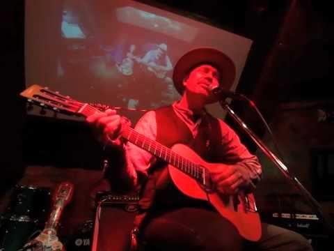 """Stop Breaking Down"" & ""Come On In My Kitchen"" Rambling Steve Gardner Live 2015"