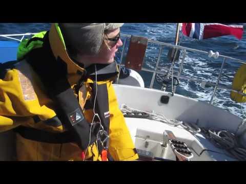 Single handed seiling - Hirtshals - Kr.sand