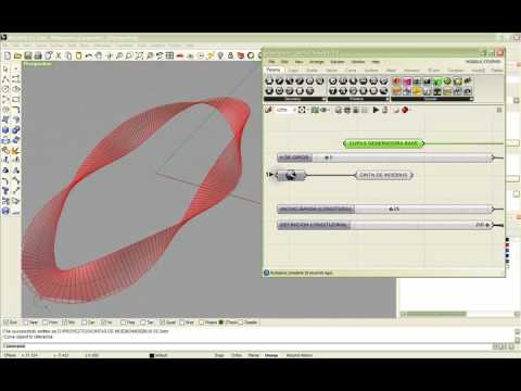 GRASSHOPPER 3D MOEBIUS STRIP GENERATION - Part I