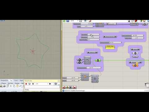 Ramificación recursiva 2d con Grasshopper