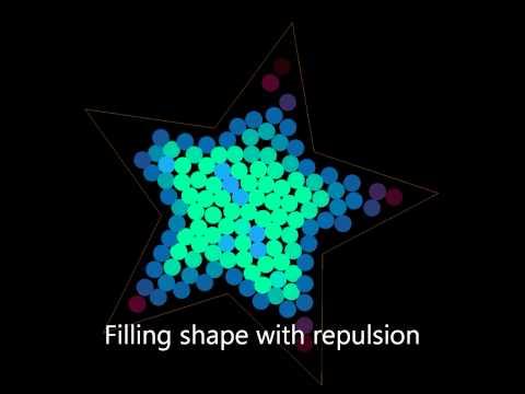 Swarm Intelligence VI: Circle Packing