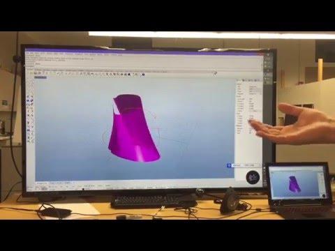 Myo + Rhino, Design in VR on process