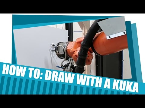 How to Draw or Engrave with Grasshopper and KUKA - Tutorial