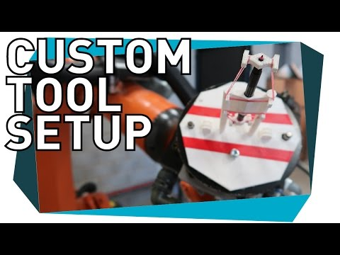 How to Setup a Custom Tool with XYZ 4-Point Method for Kuka - Tutorial