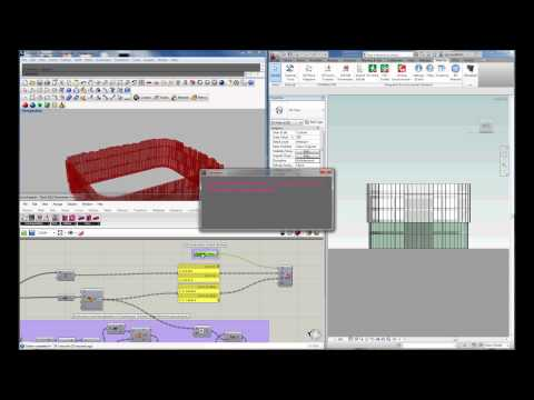 Grasshopper-Revit Geometry Transfer and Edit Params