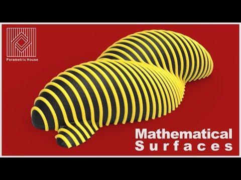 Mathematical Surfaces : Isomesh & Parametric