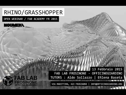 RHINO / GRASSHOPPER WEBINAR