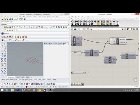 Grasshopper Tutorial Part 2a: Twisting with Series and Range