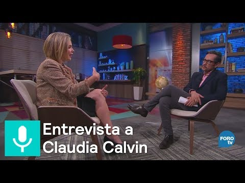 Genaro Lozano entrevista a Claudia Calvin