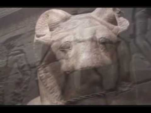 The Egyptian Temples represents an  alchemical process 1 - 5