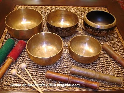 Tibetan Healing Sounds - Singing Bowls - Natural sounds Gold for Meditation & Relaxation