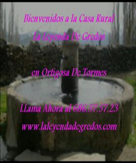 casa rural laleyendadegredos.com