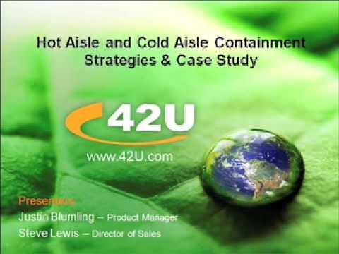 Hot Aisle & Cold Aisle Containment Webinar