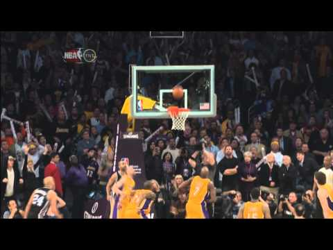 Antonio McDyess Game Winning Tip vs Lakers 2/3/2011