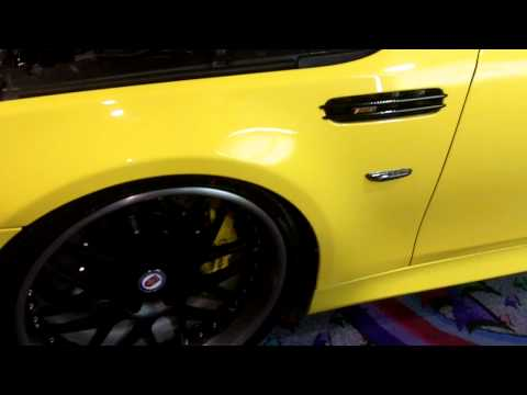 BMW E60 M5 @ SEMA 2011  - Stealth Auto Tech