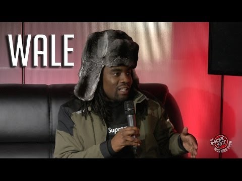 Wale addresses his spaz on the HOT97 AM Show