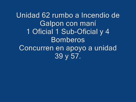 Bomberos de Villa Maria, Cordoba / Trayecto a un incendio de Galpon con Mani / Video Destacado de La Hermandad de Bomberos